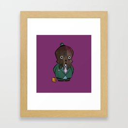 Business Cthulhu Framed Art Print