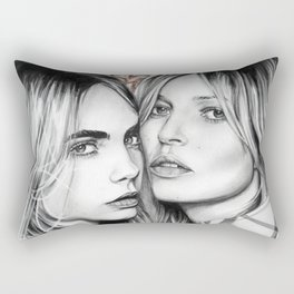 Kate and Cara Rectangular Pillow