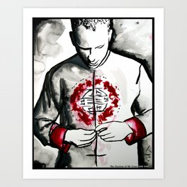 The Passion of Mr Gone  Art Print