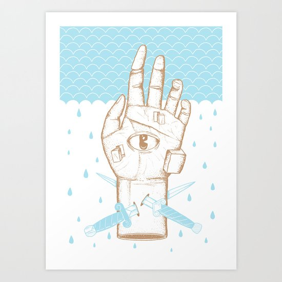 Swimming Lessons Art Print