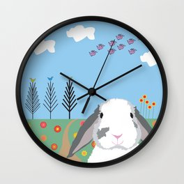 Jokke, The Rabbit Wall Clock