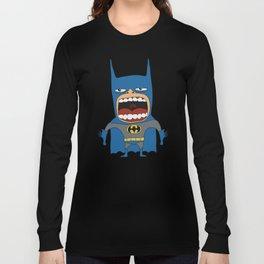Screaming Batdude Long Sleeve T-shirt