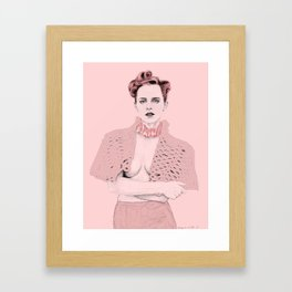 #WhatFeministsWear Framed Art Print