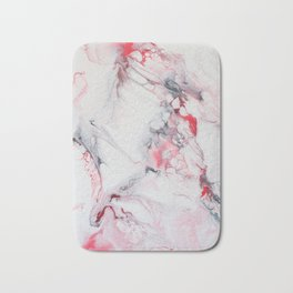 Pink Marble Bath Mat