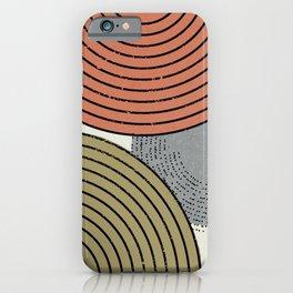 Retro Minimalist Design iPhone Case