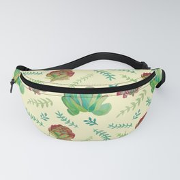 Paddle Plant Pattern Fanny Pack