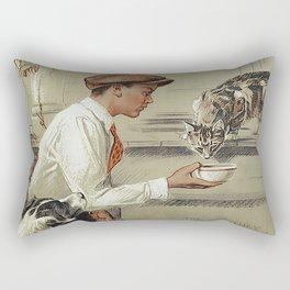 Be Kind To Animals 1 Rectangular Pillow