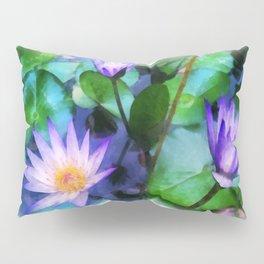 Purple Lotus Pillow Sham