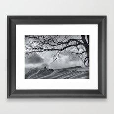 Chilling Wind Drifting Snow  2009 Framed Art Print