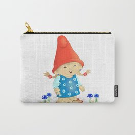 garden gnome little Girl Carry-All Pouch