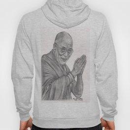 Dalai Lama Tenzin Gyatso Drawing Hoody