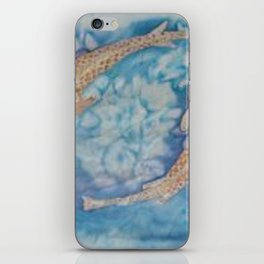 Koi Pond Batik iPhone Skin