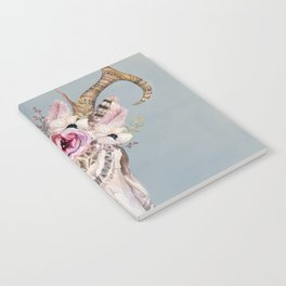 Deer Skull 2 Notebook