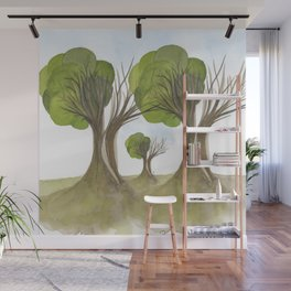 Duality Tree Wall Mural