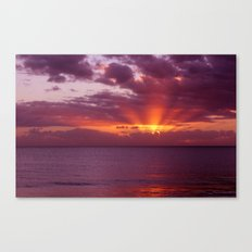 Let the new day lift your spirits to the sky Canvas Print