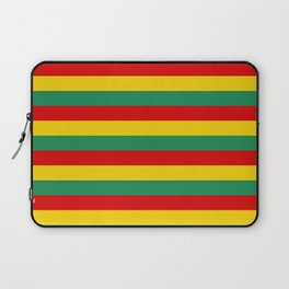 cameroon flag stripes Laptop Sleeve
