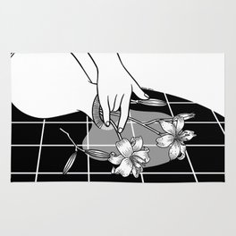Come Out Wet Ⅱ : You ruined my vase Rug