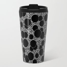 calm chaos inverted Travel Mug