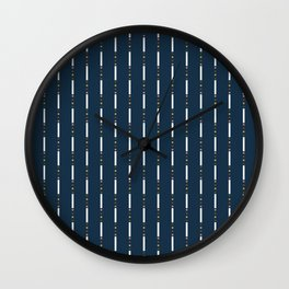 A Dash of Autumn Wall Clock