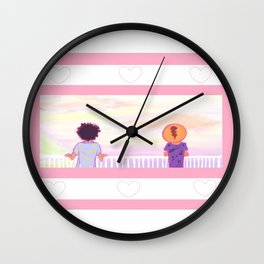 Deme and Maz Wall Clock