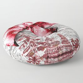Christmas Time Floor Pillow