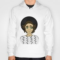 harry styles Hoodies featuring Harry Styles by LizDrawsss