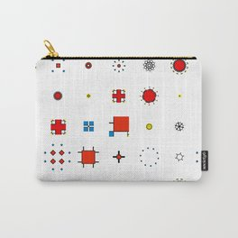 Mondrian inspired Carry-All Pouch