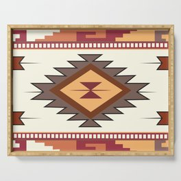 American Native Pattern No. 85 Serving Tray