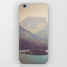 Retro Glacier iPhone Skin