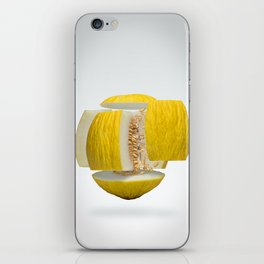 Flying Casaba Melon iPhone Skin