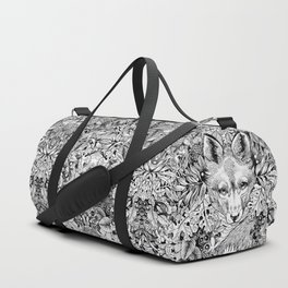 hidden fox Duffle Bag