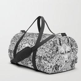 hidden fox Duffle Bag