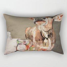 Needs More Cowbell Rectangular Pillow