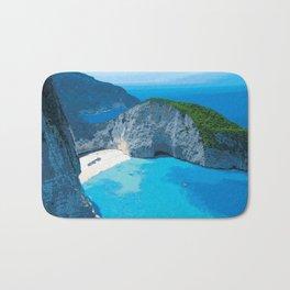 Ocean Vibe Bath Mat