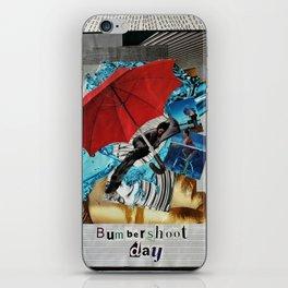 Bumbershoot Day iPhone Skin