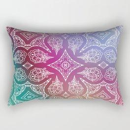 Rainbow Lace Rectangular Pillow