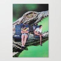 safari Canvas Prints featuring Safari by John Turck