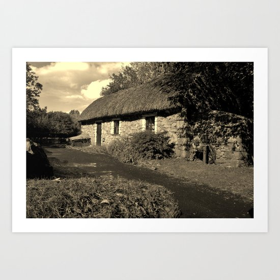 Living In The Past Art Print