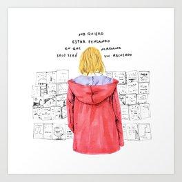 Recuerdo - Luca Bocci Art Print