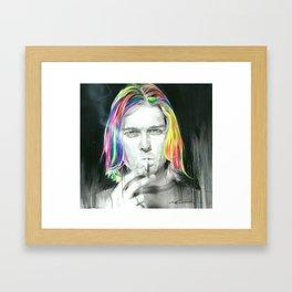 'Cigarette Burns' Framed Art Print