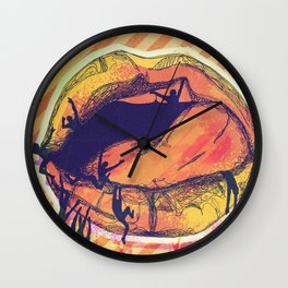Maneater - 2 Wall Clock