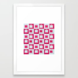 Omg, Purses Framed Art Print
