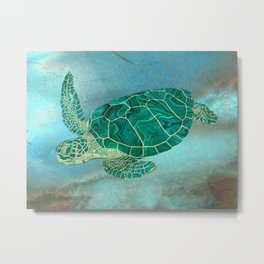 A Lovely Turt Metal Print