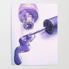 Purple Polish Poster