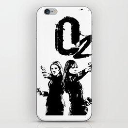 o2: Olivia Dunham and AltLiv, Fringe iPhone Skin