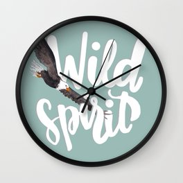 Wild Spirit Wall Clock