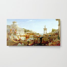 Cole Thomas The Consummation The Course of the Empire Metal Print