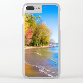 Somewhere Baby Clear iPhone Case