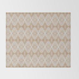 SAHARA GEO GOLD Throw Blanket