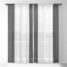 Frame Border Hotel Style Classics Sheer Curtain
